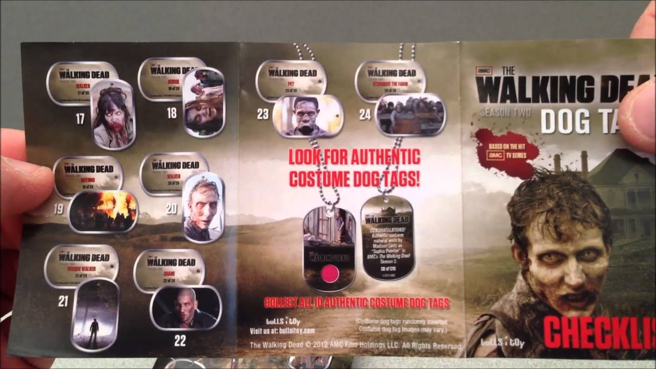 Dead Dogs Walking Walking Dead Amc Series Dog