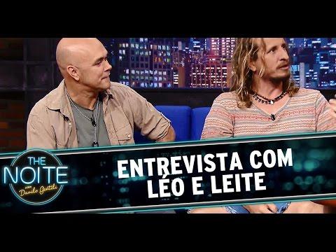 The Noite (26/09/14) - Entrevista com Léo e Leite