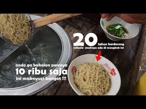 MAKNYUSS BANGET !! GA NYANGKA BISA SEENAK INI HANYA PAKE GEROBAK | INDONESIA STREET FOOD #400