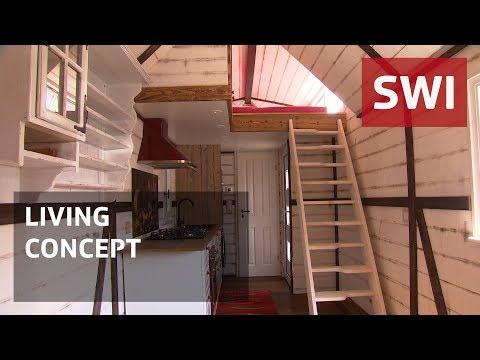 Switzerland warms to 'tiny houses'