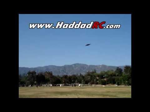 14 feet B2 bomber homemade RC foam plane electric by haddadrc.com