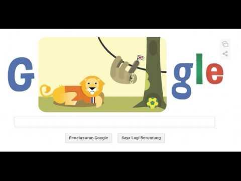 Google Doodle : Netherlands VS Costa Rica Fifa World Cup 2014