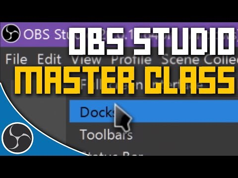 The Most In-Depth OBS Studio Tutorial Course Ever Made | OBS STUDIO MASTER CLASS 2018