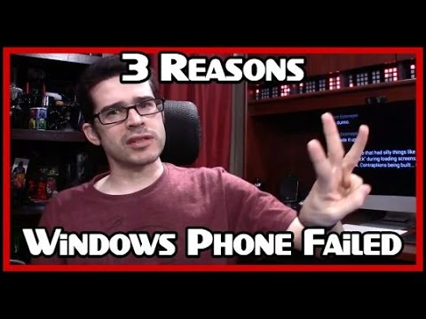 3 Reasons Windows Phone Failed
