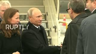 LIVE: Putin arrives in Paris for WWI centenary celebrations