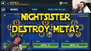 Star Wars: Galaxy Of Heroes - Will Nightsisters Break The Meta?