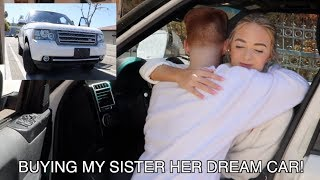 "I BOUGHT MY SISTER HER DREAM CAR! ""PRANK"""