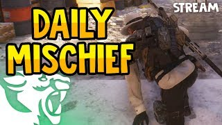 DAILY DARK ZONE MISCHIEF - The Division 1.6.1 Live Stream