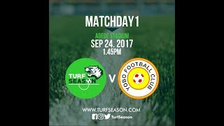 Turf Season vs Yobo FC - Full Match