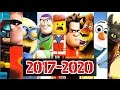 Upcoming Animated Movies 2017 - 2020 ft Coco, Toy story 4, Madagascar 4 & Much More HD
