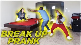 BREAK UP PRANK IN FRONT OF OUR PARENTS | THE PRINCE FAMILY