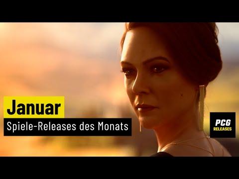 Spiele-Releases im Januar 2021 | Für PC, PS4, PS5, Xbox One, Xbox Series X und Switch