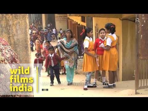 School gets over in India
