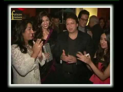Bollywood Celebrities At 25th Marriage Anniversary Of Shashi Ranjan And Anu Ranjan video