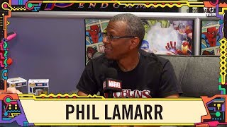 Actor and Comedian Phil LaMarr on Marvel LIVE at SDCC 2019!