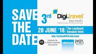 3rd Digi Travel Asia-Pacific Conference & Expo 2018