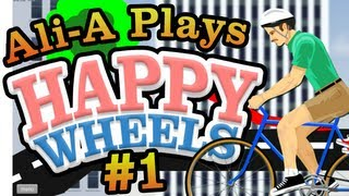 "Happy Wheels - Ali-A Plays #1 - ""FOR NARNIA!"""