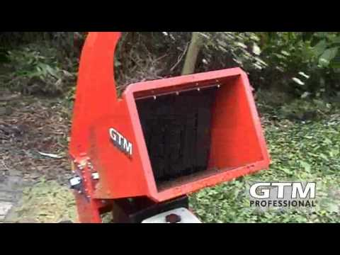 GTM professional GTS1300 wood chipper