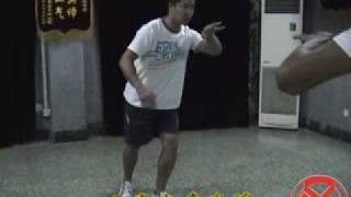 意拳锻炼 Yiquan training, 10-05, 2-12, 摩擦步 Friction Step