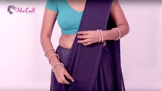 How to Wear A Saree Perfectly | Saree Wearing Video Tutorial