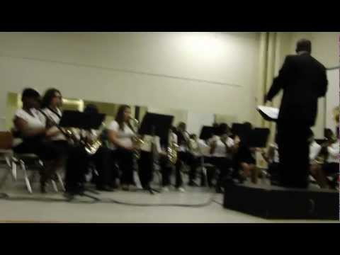 Neal Middle School Band Concert 05/10/2012