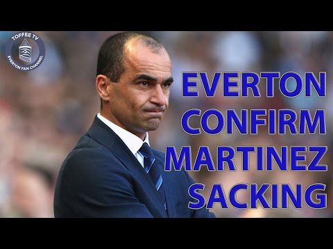 Roberto Martinez CONFIRMED SACKED!