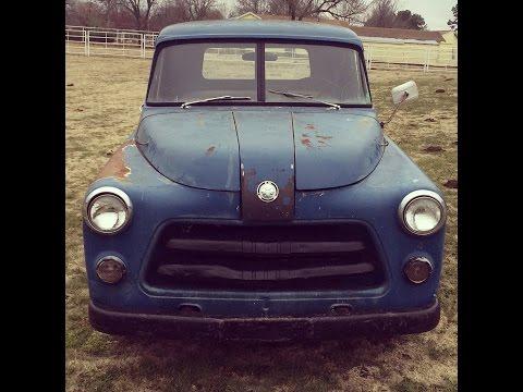 1954 Dodge Pickup driving