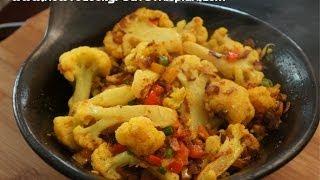 Ethiopian Food - Cauliflower & Ginger Vegan Tibs Recipes - Amharic English - Abeba Gomen