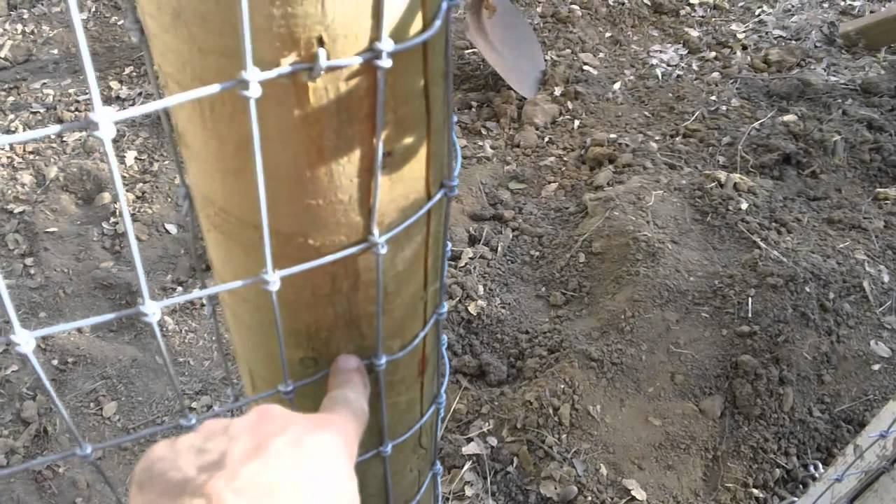 how to build a horse fence youtube
