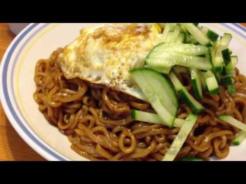 How to make ChapaGuri Ramen Noodles - 짜파구리 만드는 법