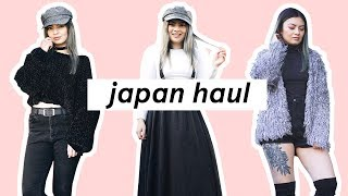 Try on Haul 2018 ? Japan / Tokyo Fashion 2018
