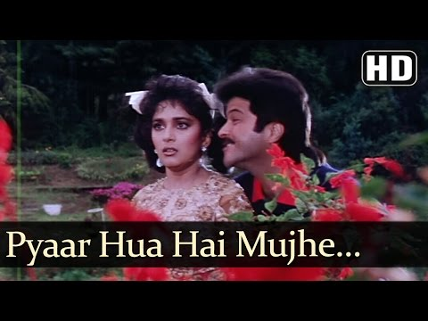 Pyar Hua Hai Mujhe - Anil Kapoor - Madhuri Dixit - Jamai Raja Bollywood Songs video