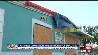 Popular Tampa Bay cafe raising money to help staff post-Irma