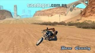 Moto brasileira Honda CG 150 para GTA San Andreas - Mods