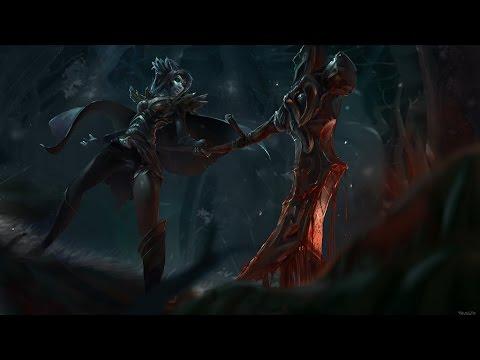 Dota 2 Phantom Assassin - Digital Painting