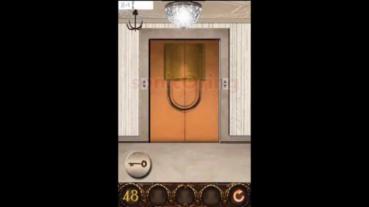 100 Doors Hell Prison Escape Level 48 Walkthrough Youtube