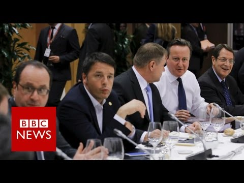 EU: UK to have 'the best of both worlds' says David Cameron  - BBC News