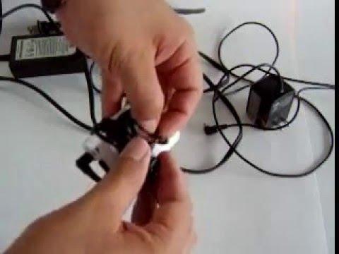 Como enrollar los cables de los aparatos electronicos