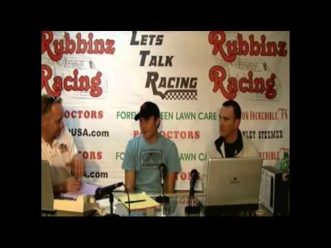 Behm Auto Racing on Let S Talk Racing Tv Show 1 18 2012 With Earnhardt