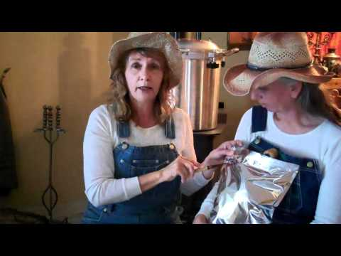 Hillbilly Prepper Gals make Hillbilly Homemade MREs Part 1
