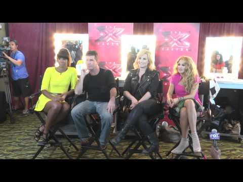 RAW INTERVIEW: The X Factor Season Three Judges in Charleston