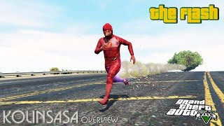 GTA 5 The Flash - Сила супергероя Flash
