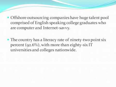 Advantages of Offshore Outsourcing in the philippines