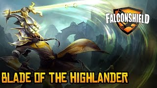 Falconshield - Blade of the Highlander (Original League of Legends music - Master Yi)