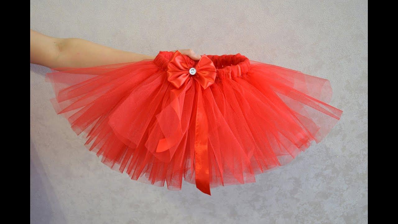 Платье или юбка из фатина своими руками 95