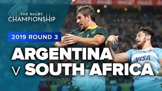 Argentina v South Africa | TRC Rd 3 Highlights