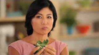 Ani Phyo + Vegetarian Times Magazine: Leaves Make Great Wraps