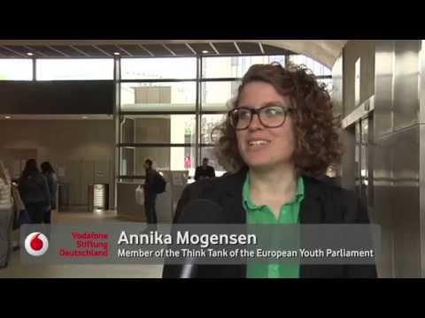 European Youth Parliament & Vodafone Stiftung meet José Manuel Barroso