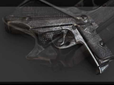 Pistol - Blender Realtime BGE Object