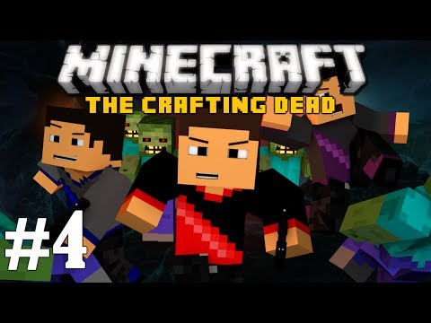 Minecraft: The Crafting Dead Ep. 4 - We Have Base!